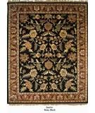 RugStudio presents Org Destin Rena Black/burgundy Hand-Tufted, Good Quality Area Rug